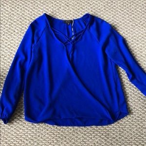 Mabel, Blue, Blouse